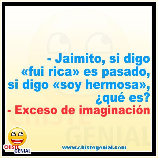 Chistes de Jaimito - Exceso de Imaginación profesora
