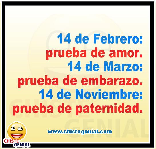 Qué pruebas hay que pasar por el día del amor - Chistes de San Valentín