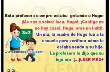 La profesora y Hugo