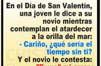 En el Día de San Valentín - Chistes de San Valentín
