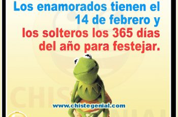 Los enamorados tienen el 14 de febrero - Chistes de San Valentín