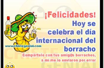 Hoy se celebra el día internacional del borracho - Chistes de borrachos