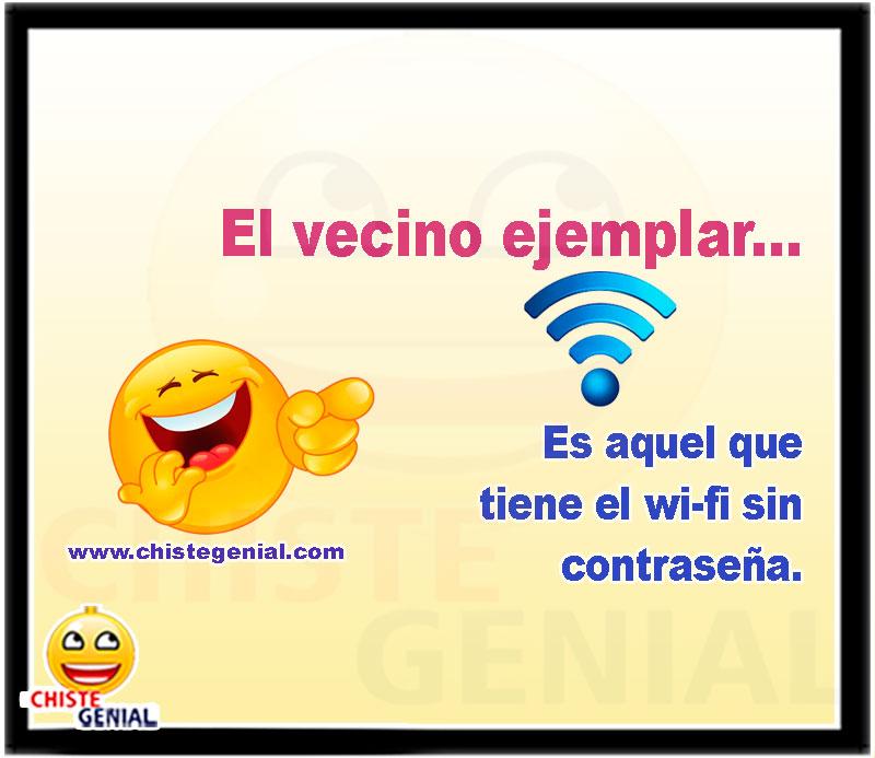 El vecino ejemplar es aquel que tiene el wi-fi sin contraseña