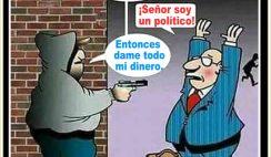 Chistes de ladrones y policías - Asaltando a político