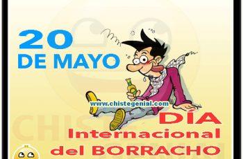 Chistes cortos - 20 de mayo, Día internacional del borracho