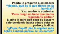 Chistes de Pepito - ¿ Qué es lo que tienes en la barriga ?