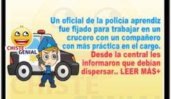 Chistes de policías y ladrones - El policía novato