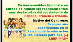 Asamblea feminista en Europa