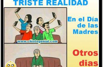 Triste realidad en el día de las madres