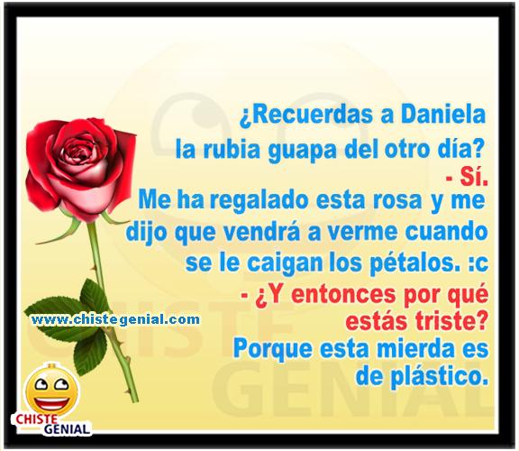 Chistes de hombres - Recuerdas a Daniela la rubia guapa