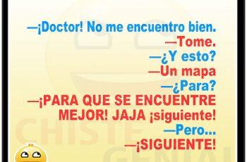Chistes de médicos - Doctor, no me encuentro bien.