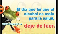 Chistes de borrachos - El alcohol es malo para la salud