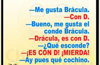 Chistes cortos buenos y divertidos - Me gusta Brácula
