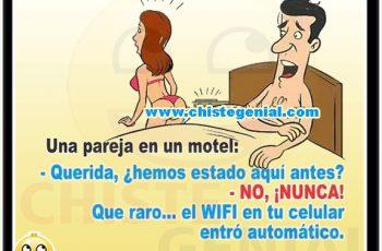 Chistes cortos de infidelidad - Una pareja en un motel