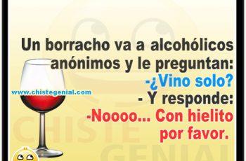 Chistes de borrachos - Un borracho va a alcohólicos anónimos