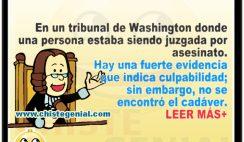chistes buenos - Acusado de asesinato en Washington