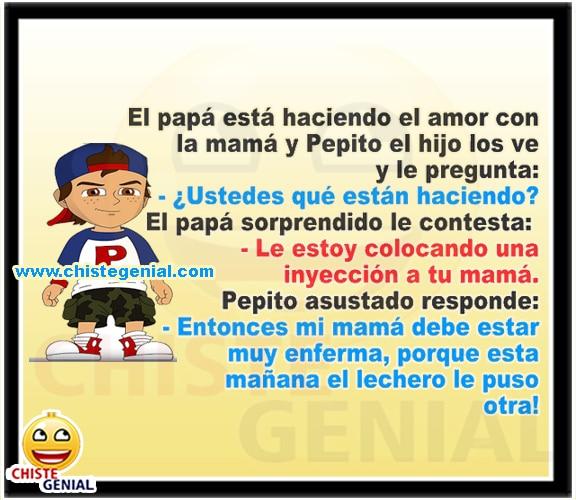 Chistes de Pepito - ¿ Ustedes que están haciendo ?