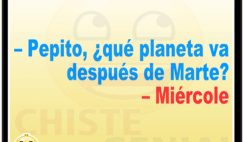 Chistes de Pepito - ¿ Qué planeta va después de Marte ?
