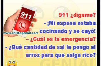 chistes cortos - ¿ cuál es la emergencia ?