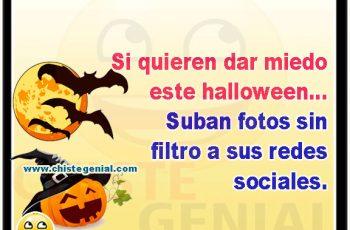 Si quieren dar miedo este halloween