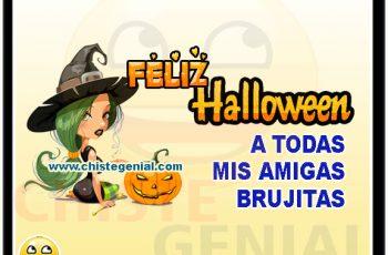 Feliz halloween a todas mis amigas brujitas