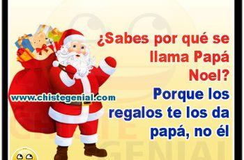 ¿ Sabes por qué se llama Papá Noel ?