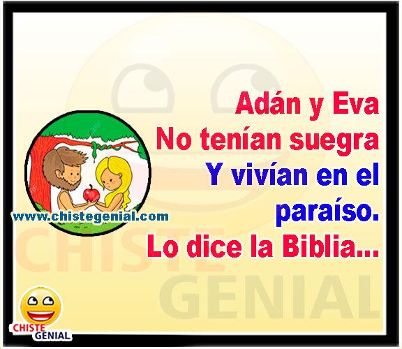 Adán y Eva no tenían suegra