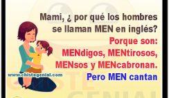 por qué los hombres se llaman MEN en inglés