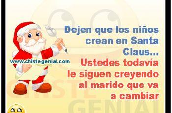 Dejen que los niños crean en Santa Claus.