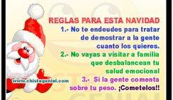 Reglas para esta navidad