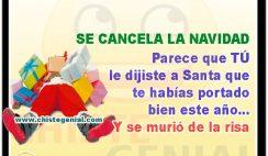Se cancela la navidad