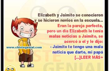 Novia de Jaimito se cambia de escuela - chistes de jaimito