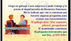 Entrevista laboral a gallego - chistes de gallegos