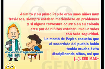 Jaimito y Pepito inmersos en problemas - Chistes de Jaimito