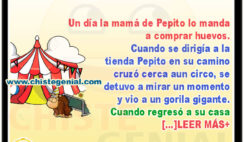 Pepito va a comprar huevos - Chistes de Pepito