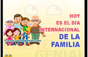 Hoy es el día internacional de la familia