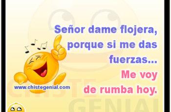 Senor dame flojera - Chistes cortos