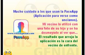 Mucho cuidado a los que usan la FaceApp - Chistes buenos