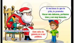 Si me traes lo que te pido - Chistes navideños para niños