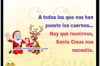 A todos los que nos han puesto los cuernos - Chistes navideños