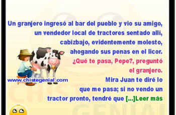 El granjero y su vaca estrella - Chistes de campesinos