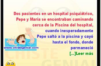 Paciente de hospital psiquiátrico dado de alta - Chistes de locos