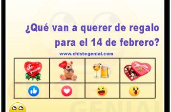 ¿Qué van a querer de regalo para el 14 de febrero?
