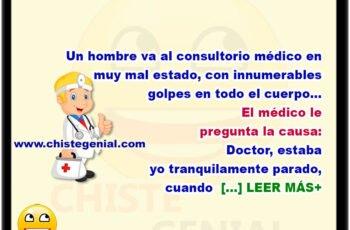 Paciente exagerado en consultorio médico
